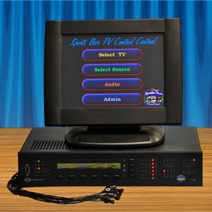SportsBar-TV Systems SBtouchV2