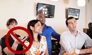 SportsBar-TV Systems don't require multiple remotes