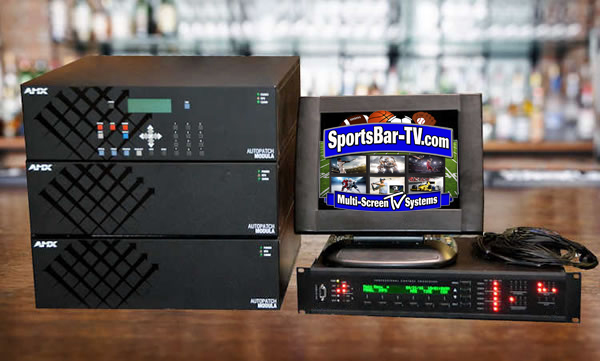 SportsBar-TV Systems - Modula Component Switch with SBTouch System