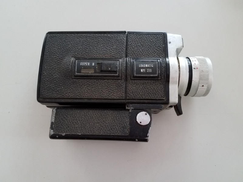 Vintage Hanimex Camcorder Movie Camera Loadmatic Mpf 310 Super 8 Ebay